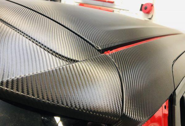 Covering Suzuki Carbon Blacktint Lyon